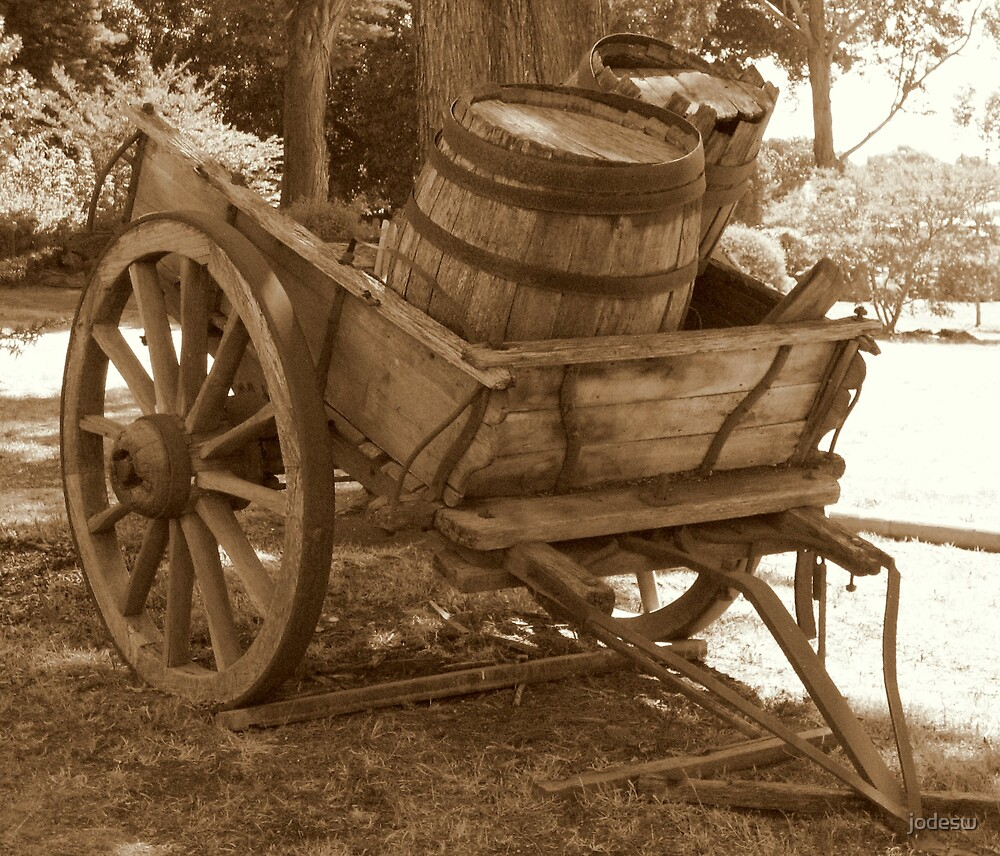 On the Wagon by Jodi Webb