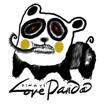 Always Love Panda by toypicnic