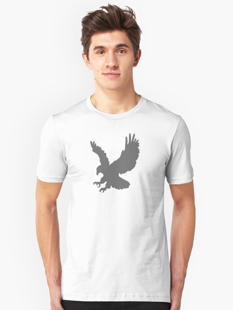 Grey Eagle - Cool T-Shirt Design Unisex T-Shirt Front