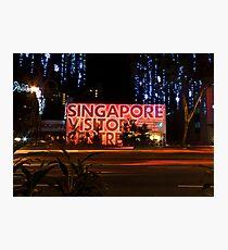 Singapore Visitors Centre Photographic Print