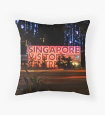 Singapore Visitors Centre Throw Pillow
