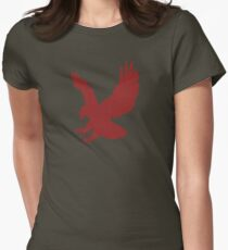 Red Eagle - Cool T-Shirt Design Women's Fitted T-Shirt