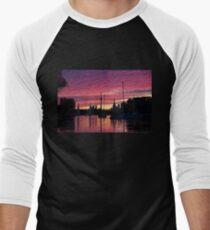 Of Yachts and Skylines Men's Baseball ¾ T-Shirt