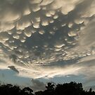 Bizarre Mammatus Clouds After a Summer Storm by Georgia Mizuleva
