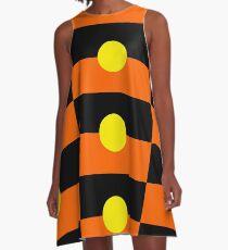 Aboriginal Flag A-Line Dress