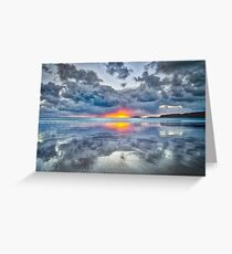 Hell's Mouth sun bomb Greeting Card