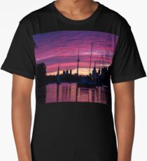 Toronto Skyline - the Boats Are Coming In Long T-Shirt