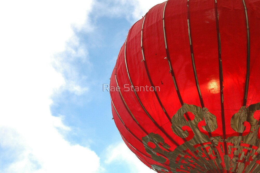red lantern by Rae Stanton
