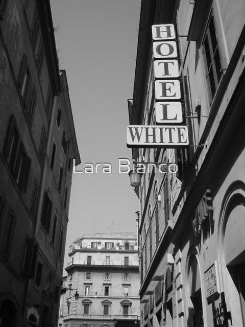 HOTEL WHITE by Lara Bianco
