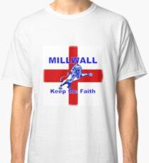 Millwall Keep The Faith Cross of St George Classic T-Shirt