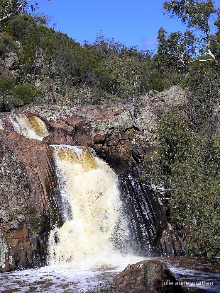 koorawatha waterfall by julie anne  grattan