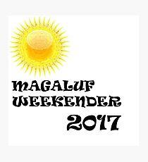 Magaluf logo Photographic Print