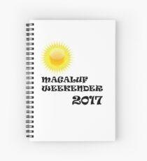 Magaluf logo Spiral Notebook
