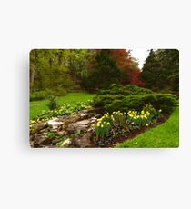 New Leaves and Flowers - Impressions Of Spring Canvas Print