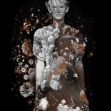 Dutch Flower Girl by rinze