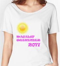 Magaluf weekender 2017 pink Women's Relaxed Fit T-Shirt