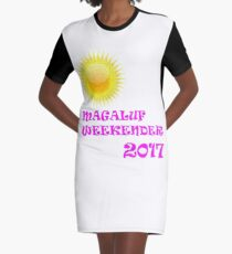 Magaluf weekender 2017 pink Graphic T-Shirt Dress