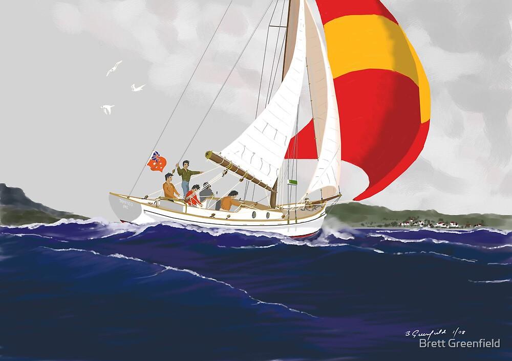 Journey's End by Brett Greenfield