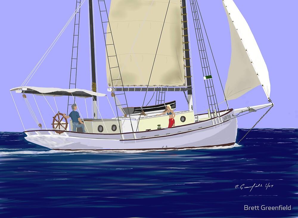 Waitoa Dreaming by Brett Greenfield