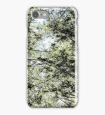 Four Trees BW 2 iPhone Case/Skin