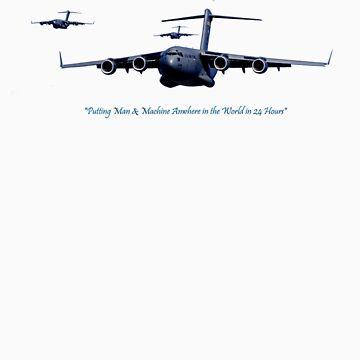 USAF C-17 by BaldUgly1