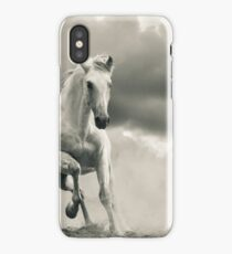 andalusian stallion running iPhone Case/Skin
