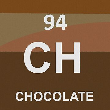 New Element Discovery:  Chocolate by Havocgirl