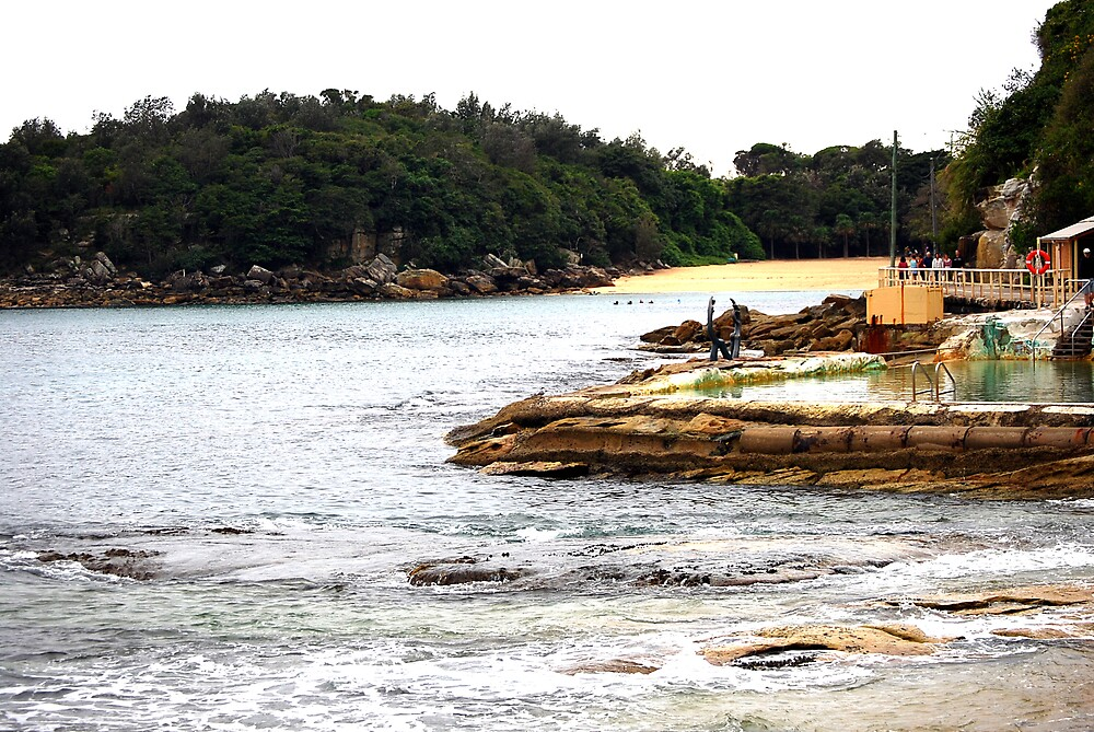 Manly 2 (shelley beach)  by Kelly  Fitzpatrick