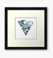 Elemental Alchemy: Water (colour) Framed Print