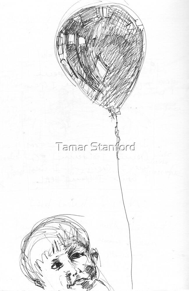 Balloon boy Zach by Tamar Stanford