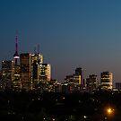 Toronto Skyline by Georgia Mizuleva