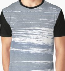 Cool grey abstract watercolor Graphic T-Shirt