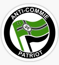 ANTI-COMMIE PATRIOT Sticker