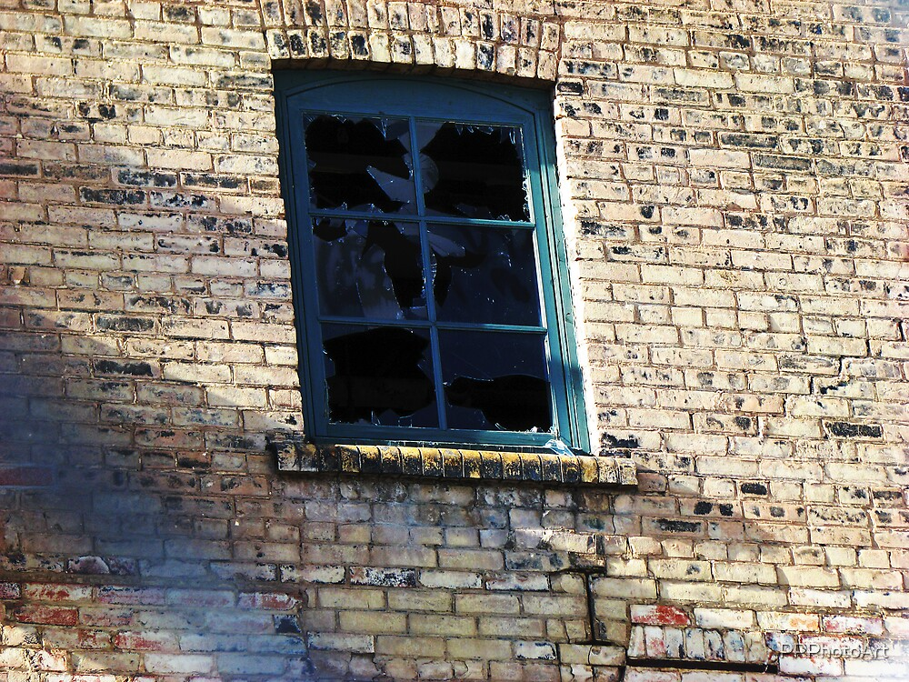 Broken window by PPPhotoArt