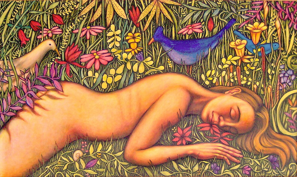 Woman and Spring #1 by Eleanor Day