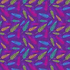 feathers pattern  by SIR13