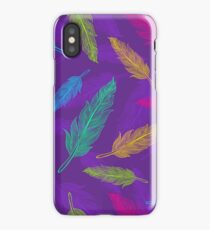 feathers pattern  iPhone Case/Skin