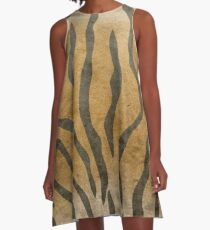 Tiger Skin A-Line Dress