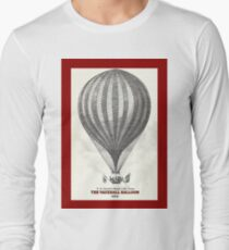 The Vauxhall balloon (1850) Long Sleeve T-Shirt