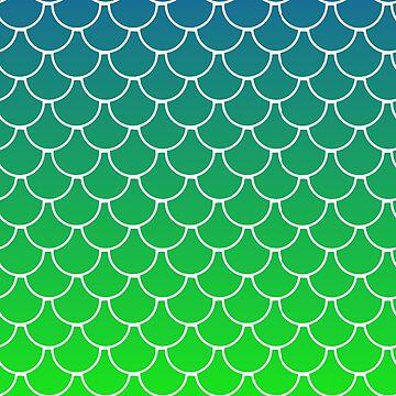 Green Mermaid by Tateisawimp