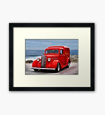 1937 Dodge 'Humpback' Delivery Panel II Framed Print