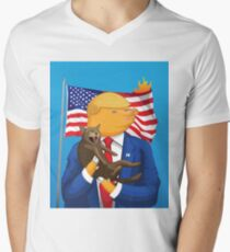 American Catastrophe Men's V-Neck T-Shirt