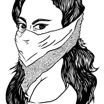 Bandana Woman by dylandillinger