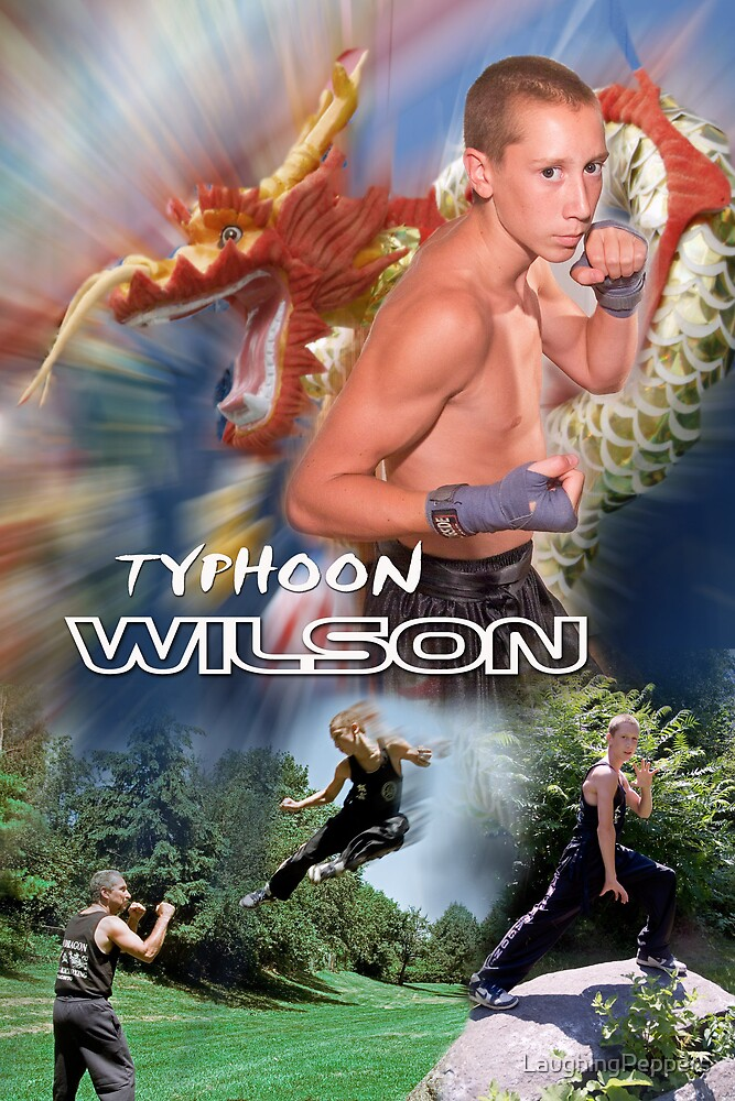 Typhoon Wilson by LaughingPeppers