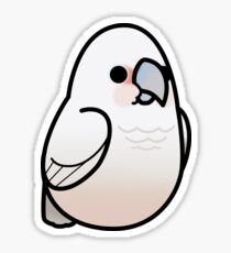 Too Many Birds! - Goffin's Cockatoo Sticker