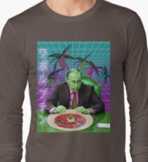 Vaporwave Putin  Long Sleeve T-Shirt