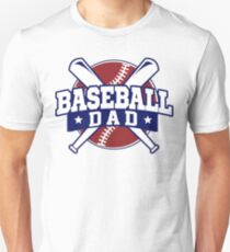 Baseball Dad - Fathers Day Gift Unisex T-Shirt