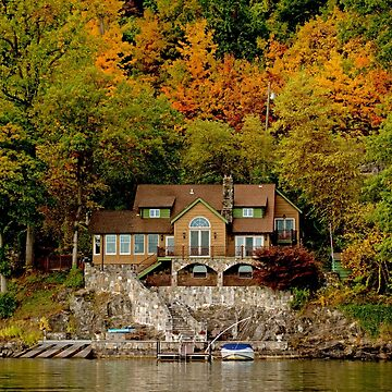 A Beautiful Lake House by imagetj