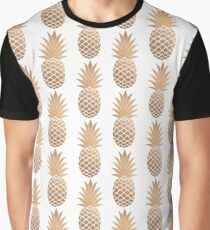 The Golden Pineapple  Graphic T-Shirt