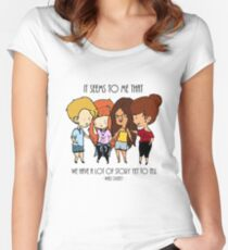 Stories'n'Friends Women's Fitted Scoop T-Shirt